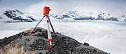 An Extreme Ice Survey time lapse camera stands vigil over the terminus of the Columbia Glacier, near Valdez, Alaska, documenting in unprecedented detail the glacier's dynamic retreat.