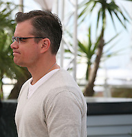 Actor Matt Damon at the 'Behind The Candelabra' film photocall at the Cannes Film Festival  Tuesday 21 May 2013
