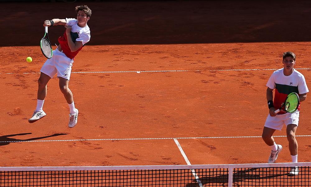Tennis-ATP Serbia Open Belgrade 2021-Final Doubles<br /> Ariel Behar (URG) & Gonzalo Escobar (ECU) v Ivan Sabanov (CRO) & Matej Sabanov (CRO<br /> Beograd, 24.04.2021.<br /> foto: Srdjan StevanovicStarsportphoto ©