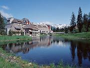 Girdwood, Alaska. The Hotel Alyeska in the Chugach National Forest.