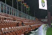 A empty kids zone at Waikto Stadium during their Round 5 ITM cup Rugby match, Waikato v Tasman, at Waikato Stadium, Hamilton, New Zealand, Friday 29 July 2011. Photo: Dion Mellow/photosport.co.nz