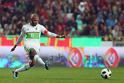 June 7, 2018 - Lisbon, Portugal - Algerias midfielder Yacine Brahimi in action during the FIFA World Cup Russia 2018 preparation football match Portugal vs Algeria, at the Luz stadium in Lisbon, Portugal, on June 7, 2018. (Portugal won 3-0) (Credit Image: © Pedro Fiuza/NurPhoto via ZUMA Press)