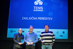 Slovenian Tennis personality of the year 2016 annual awards presented by Slovene Tennis Association Tenis Slovenija, on December 7, 2016 in Siti Teater, Ljubljana, Slovenia. Photo by Vid Ponikvar / Sportida
