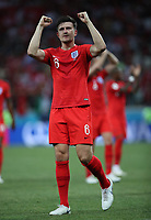 Football - 2018 FIFA World Cup - Group G: England vs. Tunisia<br /> <br /> Harry Maguire of England is seen at full time at Volgograd Arena, Volgograd.<br /> <br /> COLORSPORT/IAN MACNICOL