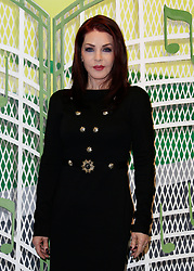 Priscilla Presley arrives to attend the opening of 'Elvis at the O2', an exhibition of Elvis Presley memorabilia at the O2 Arena, London.