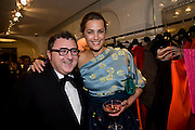 ALBER ELBAZ; YASMIN LE BON, The Launch of the Lanvin store on Mount St. Presentation and cocktails.  London. 26 March 2009