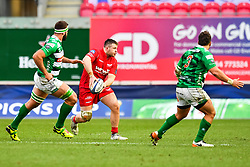 Scarlets' Rob Evans in action - Mandatory by-line: Craig Thomas/JMP - 09/12/2017 - RUGBY - Parc y Scarlets - Llanelli, Wales - Scarlets v Benetton Rugby - European Rugby Champions Cup