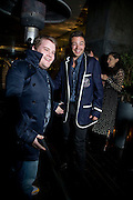 JAMES CORDEN AND DOMINIC COOPER, ESQUIRE Editor Jeremy Langmead hosts a Salon/ dinner in honour of Casey Affleck. SUKA at Sanderson Hotel, 15 Berners Street, London. 28 May 2008 *** Local Caption *** -DO NOT ARCHIVE-© Copyright Photograph by Dafydd Jones. 248 Clapham Rd. London SW9 0PZ. Tel 0207 820 0771. www.dafjones.com.