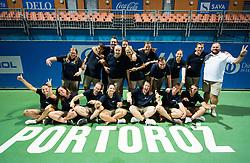 Referees after the Final Singles match at Day 9 of ATP Challenger Zavarovalnica Sava Slovenia Open 2018, on August 11, 2018 in Sports centre, Portoroz/Portorose, Slovenia. Photo by Vid Ponikvar / Sportida