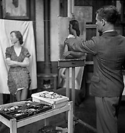 Artist school - possibly Euston 1940s Euston School of Drawing and Painting in London between 1937 and 1939