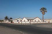 Quiet suburban scene in Walvis Bay, Namibia