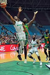September 15, 2017 - Tunis, Tunisia - Iroegbu Ikenna(1)of Nigeria during the semi-final of FIBA AfroBasket 2017....Afrobasket 2017: Semifinal: Senegal eliminated by Nigeria who find Tunisia in the final  (Credit Image: © Chokri Mahjoub via ZUMA Wire)
