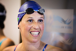 Anja Carman Cekic during her retirement in Olympic swimming pool Kranj, Kranj, on May 28, 2016. Photo by Ziga Zupan / Sportida