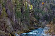North Umpqua River in the Umpqua National Forest, Oregon, USA