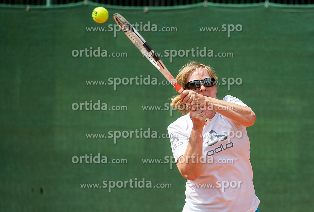 Drzavno prvenstvo novinarjev v tenisu 2019, on June 12, 2019 in Tivoli, Ljubljana, Slovenia. Photo by Vid Ponikvar / Sportida