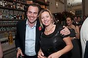 JEMIMA SISSONS; SIMON DAVIS, Launch of the Orange restaurant, 37 Pimlico Road, SW1W 8NE,  Thursday 29 October 2009