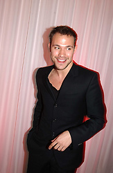 Singer WILL YOUNG at the annual Laurent Perrier Pink Party held at The Sanderson Hotel, Berners Street, London on 27th April 2005.<br />