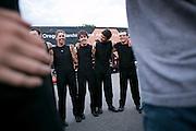Shadow Armada performs in Sun Prairie, Wisconsin on June 29, 2013.