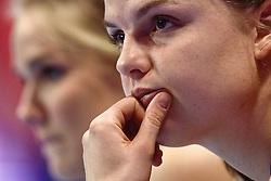 09-01-2016 TUR: European Olympic Qualification Tournament Rusland - Nederland, Ankara<br /> De Nederlandse volleybalsters hebben de finale van het olympisch kwalificatietoernooi tegen Rusland verloren. Oranje boog met 3-1 voor de Europees kampioen (25-21, 22-25, 25-19, 25-20) / Yvon Belien #3