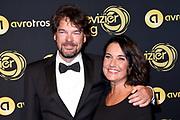 Uitreiking Gouden Televizier-Ring Gala 2018.<br /> <br /> OP de foto:  Dione de Graaff en partner Nando Boers