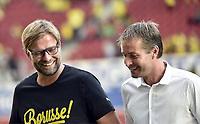 v.l. Trainer Juergen Klopp (Dortmund), Trainer Kaspar Hjulmand<br /> Fussball Bundesliga, FSV Mainz 05 - Borussia Dormtund<br /> Norway only