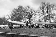 London. United Kingdom,  crews boating for the 2018 Women's Head of the River Race.  location Barnes Bridge, Championship Course, Putney to Mortlake. River Thames, <br /> <br /> Saturday   10/03/2018<br /> <br /> [Mandatory Credit:Peter SPURRIER Intersport Images]<br /> <br /> LEICA CAMERA AG  LEICA Q (Typ 116)  1/250 sec. 28 mm f.4 200 ISO.  42.9MB
