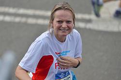 01-11-2015 USA: NYC Marathon We Run 2 Change Diabetes day 4, New York<br /> De dag van de marathon, 42 km en 195 meter door de straten van Staten Island, Brooklyn, Queens, The Bronx en Manhattan / Petra