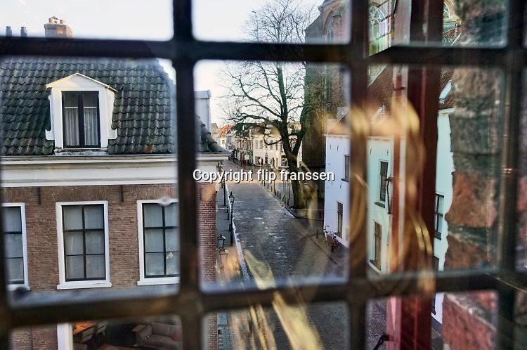 Nederland, Doesburg, 9-3-2019Oude monumentale binnenstad, mosterdstad, middeleeuwse stadskern .Foto: Flip Franssen