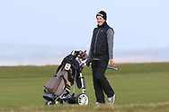 Richard Knightly (Royal Dublin) on the 18th fairway during Round 3 of The West of Ireland Open Championship in Co. Sligo Golf Club, Rosses Point, Sligo on Saturday 6th April 2019.<br /> Picture:  Thos Caffrey / www.golffile.ie