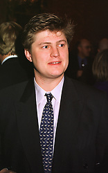 The HON.ANGUS HENDERSON at a reception in London on 20th April 1999.MRF 55