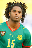 Photo: Steve Bond/Richard Lane Photography.<br />Cameroun v Zambia. Africa Cup of Nations. 26/01/2008. Alexandre Song of Cameroon & Arsenal