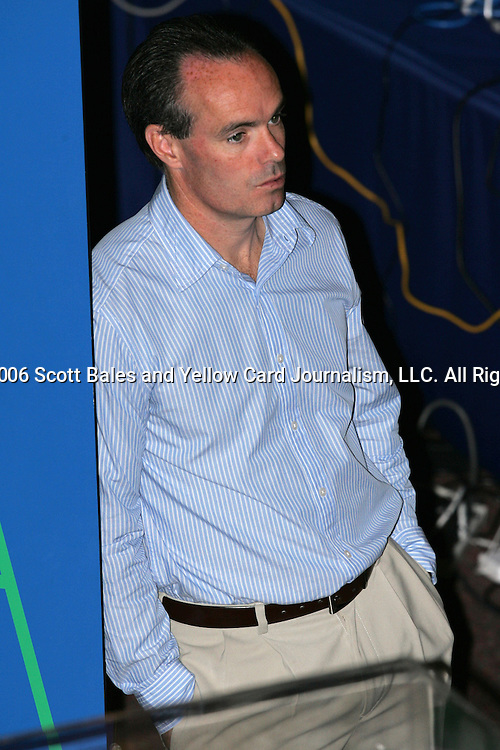 28 August 2006: Mike Burns. The National Soccer Hall of Fame Induction Ceremony was held at the National Soccer Hall of Fame in Oneonta, New York.