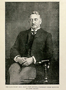 The Late Right Hon. Cecil John Rhodes, Prime Minister Of Cape Colony<br /> From the Book '  Britain across the seas : Africa : a history and description of the British Empire in Africa ' by Johnston, Harry Hamilton, Sir, 1858-1927 Published in 1910 in London by National Society's Depository