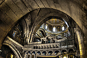 Israel, Jerusalem Old City, Interior of the Church of the Holy Sepulchre The roof