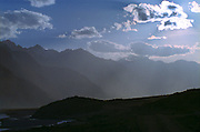 Late afternoon in the Himalayas