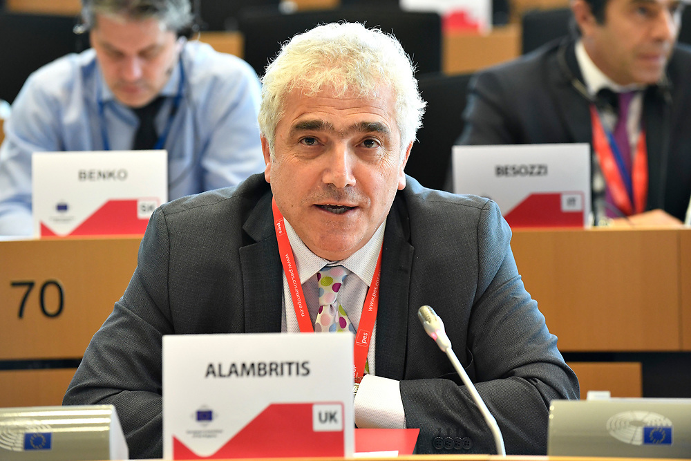 12 May 2017, 123rd Plenary Session of the European Committee of the Regions <br /> Belgium - Brussels - May 2017 <br /> <br /> ALAMBRITIS Stephen <br /> © European Union / Fred Guerdin