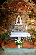 Small shrine, Vernazza, Cinque Terre, Liguria, Italy