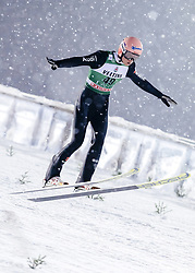 February 8, 2019 - Lahti, Finland - Karl Geiger  participates in FIS Ski Jumping World Cup Large Hill Individual training at Lahti Ski Games in Lahti, Finland on 8 February 2019. (Credit Image: © Antti Yrjonen/NurPhoto via ZUMA Press)