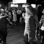 Black and White Dance Party Moment| Lake Tahoe Wedding Photography Portfolio| South Lake Tahoe, California