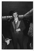Ranald Macdonald at the Action Ball 1986.  ONE TIME USE ONLY - DO NOT ARCHIVE  © Copyright Photograph by Dafydd Jones 66 Stockwell Park Rd. London SW9 0DA Tel 020 7733 0108 www.dafjones.com