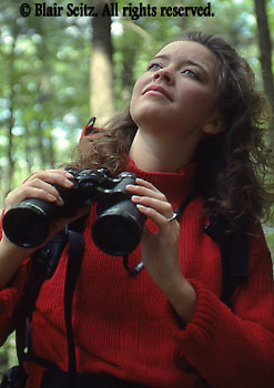 Birdwatching, Pine Grove Furnace State Park, Appalachian Trail Outdoor recreation, Birdwatching, Young Adult Male,