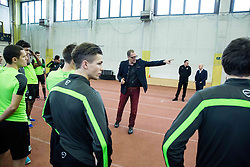 Srdjan Djordjevic during first training of NK Olimpija Ljubljana before spring season when presented Olimpija's new coach, on January 11, 2016 in ZAK stadium, Ljubljana, Slovenia. Photo by Vid Ponikvar / Sportida