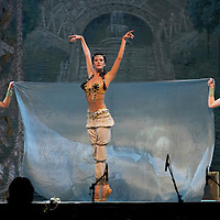 Krisztina Kevehazi (center) solist of the Hungarian National Ballet Company performs in The Nutcracker during the christmas holiday performance of the Hungarian National Ballet Company in in Budapest, Hungary on December 22, 2006. ATTILA VOLGYI