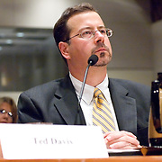 """Ted Davis. Panel: Al Qaeda. The 9/11 Commission's 12th public hearing on """"The 9/11 Plot"""" and """"National Crisis Management"""" was held June 16-17, 2004, in Washington, DC."""