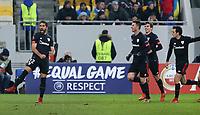 LVIV, UKRAINE - DECEMBER 07: UEFA Europa League Group J match between Zorya Luhansk and Athletic Bilbao at Arena Lviv in Lviv, Ukraine. December 07, 2017