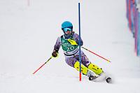 Tony Buttinger Slalom U14 with Gunstock Ski Club.   ©2021 Karen Bobotas Photographer