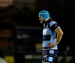 Olly Robinson of Cardiff Blues<br /> <br /> Photographer Simon King/Replay Images<br /> <br /> Guinness PRO14 Round 14 - Cardiff Blues v Connacht - Saturday 26th January 2019 - Cardiff Arms Park - Cardiff<br /> <br /> World Copyright © Replay Images . All rights reserved. info@replayimages.co.uk - http://replayimages.co.uk