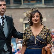 NLD/Den Haag/20190917 - Prinsjesdag 2019, Paul Blokhuis en partner Ida Karssing