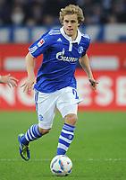 Fotball<br /> Tyskland<br /> 04.12.2011<br /> Foto: Witters/Digitalsport<br /> NORWAY ONLY<br /> <br /> Teemu Pukki (Schalke)<br /> Bundesliga, FC Schalke 04 - FC Augsburg 3:1