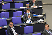 DEU, Deutschland, Germany, Berlin, 24.02.2021: Götz Frömming (AfD) bei der Regierungsbefragung in der Plenarsitzung im Deutschen Bundestag.